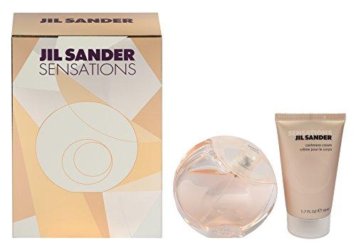 jil sander sensations geschenkset eau de toilette spray. Black Bedroom Furniture Sets. Home Design Ideas