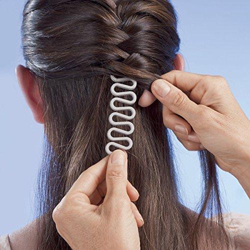 coolster damen haarstyling diy tool donut hair bun maker