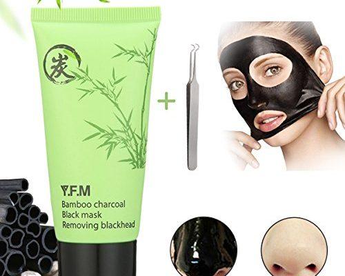 blackmaske y f m bambuskohle mitesser maske reinigungsmaske tiefenreinigende akne entferner. Black Bedroom Furniture Sets. Home Design Ideas