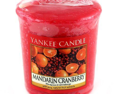 yankee candle sampler votivkerze 49 g mandarin cranberry schonheitsprodukte. Black Bedroom Furniture Sets. Home Design Ideas
