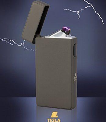 tesla lighter t13 lichtbogen feuerzeug plasma double arc elektronisch wiederaufladbar. Black Bedroom Furniture Sets. Home Design Ideas