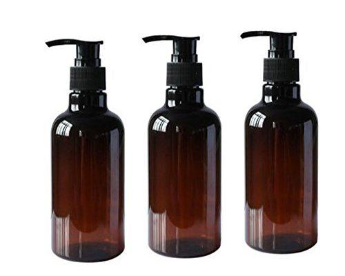 3 250 ml 8oz nachf llbar leer pet kunststoff pumpe flaschen shampoo dusche gel gl sern beh lter. Black Bedroom Furniture Sets. Home Design Ideas