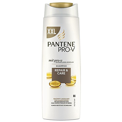 pantene pro v repair und care shampoo f r strapaziertes. Black Bedroom Furniture Sets. Home Design Ideas