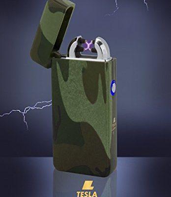 tesla lighter t08 lichtbogen feuerzeug plasma double. Black Bedroom Furniture Sets. Home Design Ideas