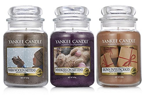 seltenen offizielle yankee candle my favorite things set von 3 classic signature gro e gl ser. Black Bedroom Furniture Sets. Home Design Ideas
