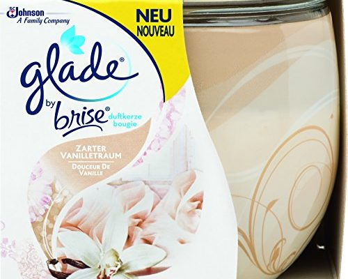 glade by brise duftkerze vanilla 120 g schonheitsprodukte. Black Bedroom Furniture Sets. Home Design Ideas