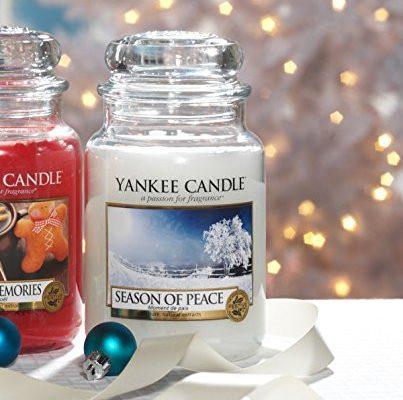 yankee candle 1275351e season of peace duftkerze im glas. Black Bedroom Furniture Sets. Home Design Ideas