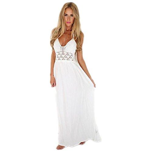 Bekleidung Kleid Loveso Sommerkleid Damen Boho Böhmischen ...