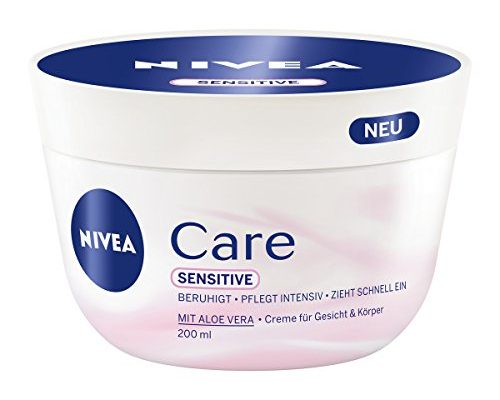 nivea care sensitive creme f r k rper und gesicht 3er. Black Bedroom Furniture Sets. Home Design Ideas