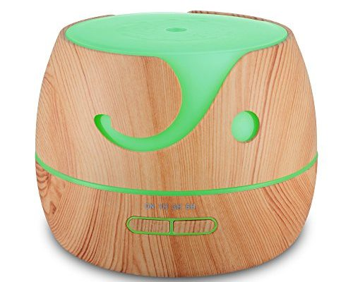 Hysure Aroma Diffuser Luftbefeuchter Ultraschall Holz