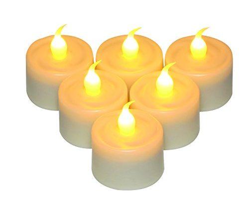 teelichter teelicht kerzen lichter mit 6 stunden timer. Black Bedroom Furniture Sets. Home Design Ideas