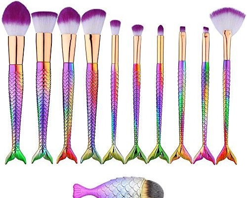Pinselset Makeup Meerjungfrau Make Up Pinsel Set11 Stück